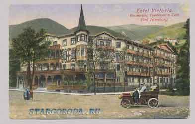 Bad Harzburg. Hotel Viktoria