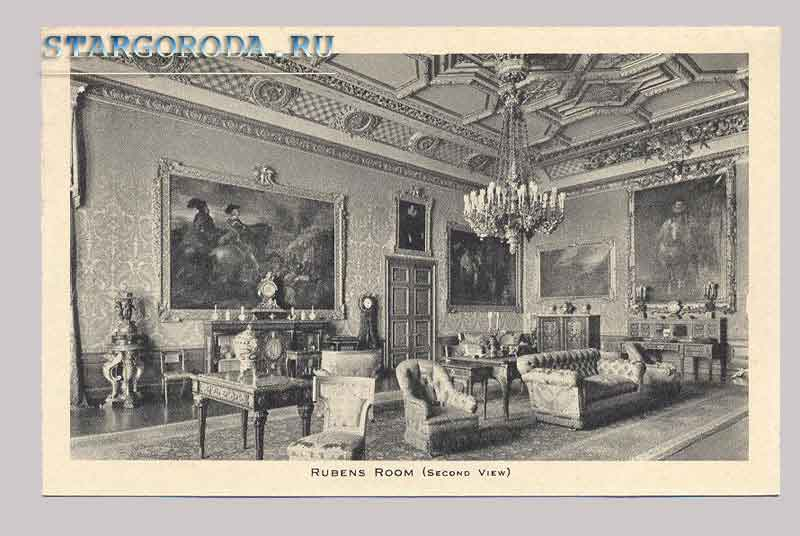 Windsor Castle. Rubens Room