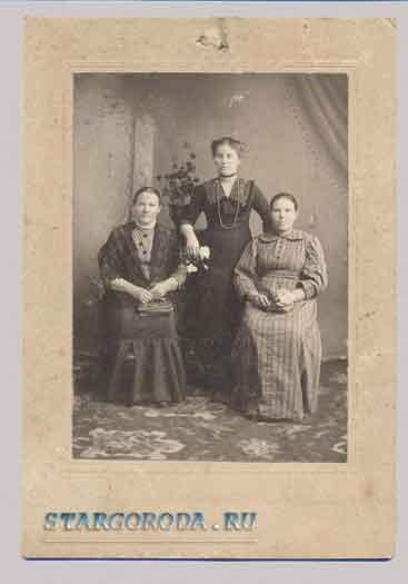 Паспарту. Три женщины.