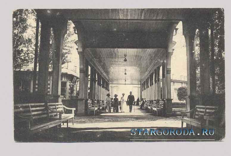 Старая Русса на почтовых открытках. Муравьевская галерея.