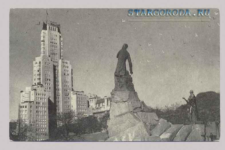 Буэнос-Айрес на почтовых открытках.