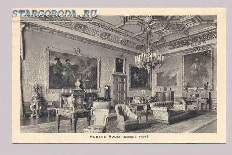 Виндзор на почтовых открытках. Комната Рубенса.