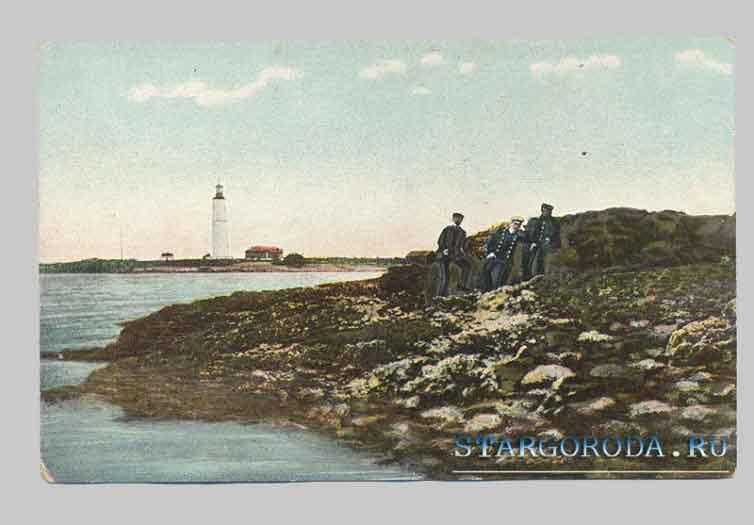 Маяк Wilsanndi на острове Сааремаа